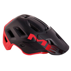MET Roam Bike Helmet red/black